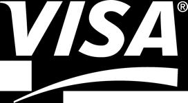 Visa Logo White