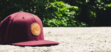 Whatever Man Leather Maroon Header