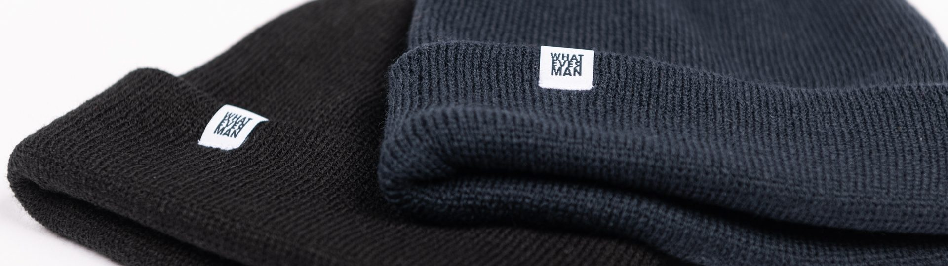 Whatever Man Fisher Beanie Classic Header