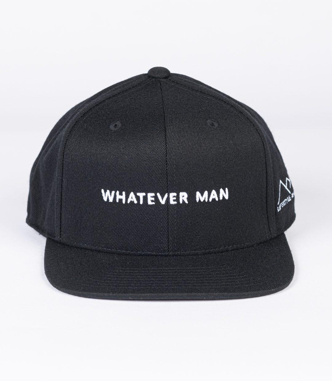 Whatever Man Block Black 01