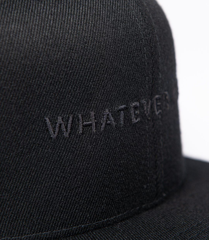 Whatever Man Block all Black Detail01