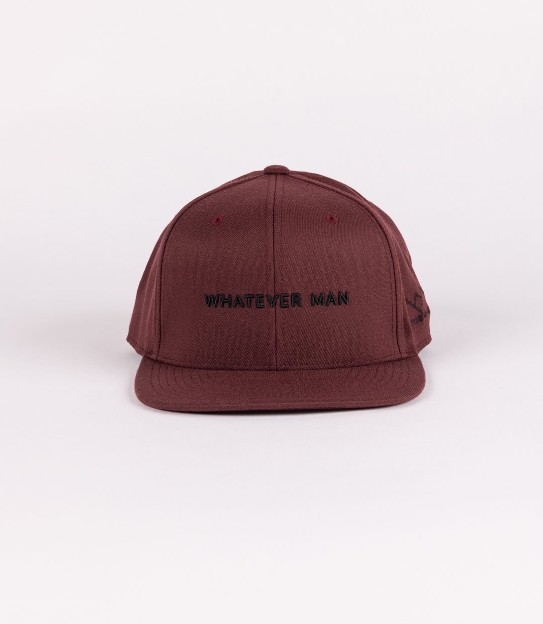 Whatever Man Block Maroon Vorne