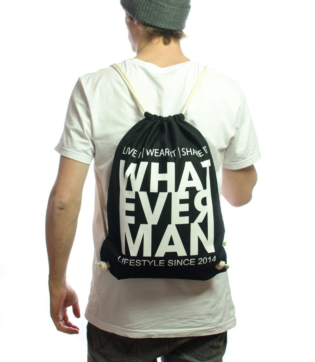 Whatever Man Hipsterbag Classic Hinten
