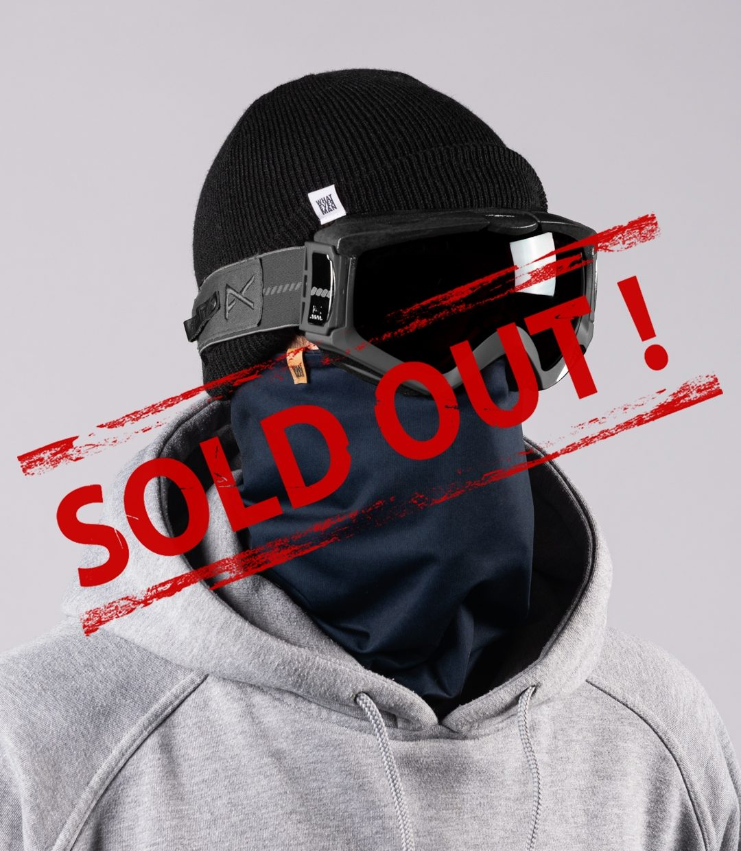 Whatever Man COVID Neckwarmer 2 SOLDOUT