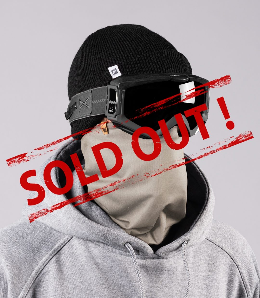Whatever Man COVID Neckwarmer 4 SOLDOUT