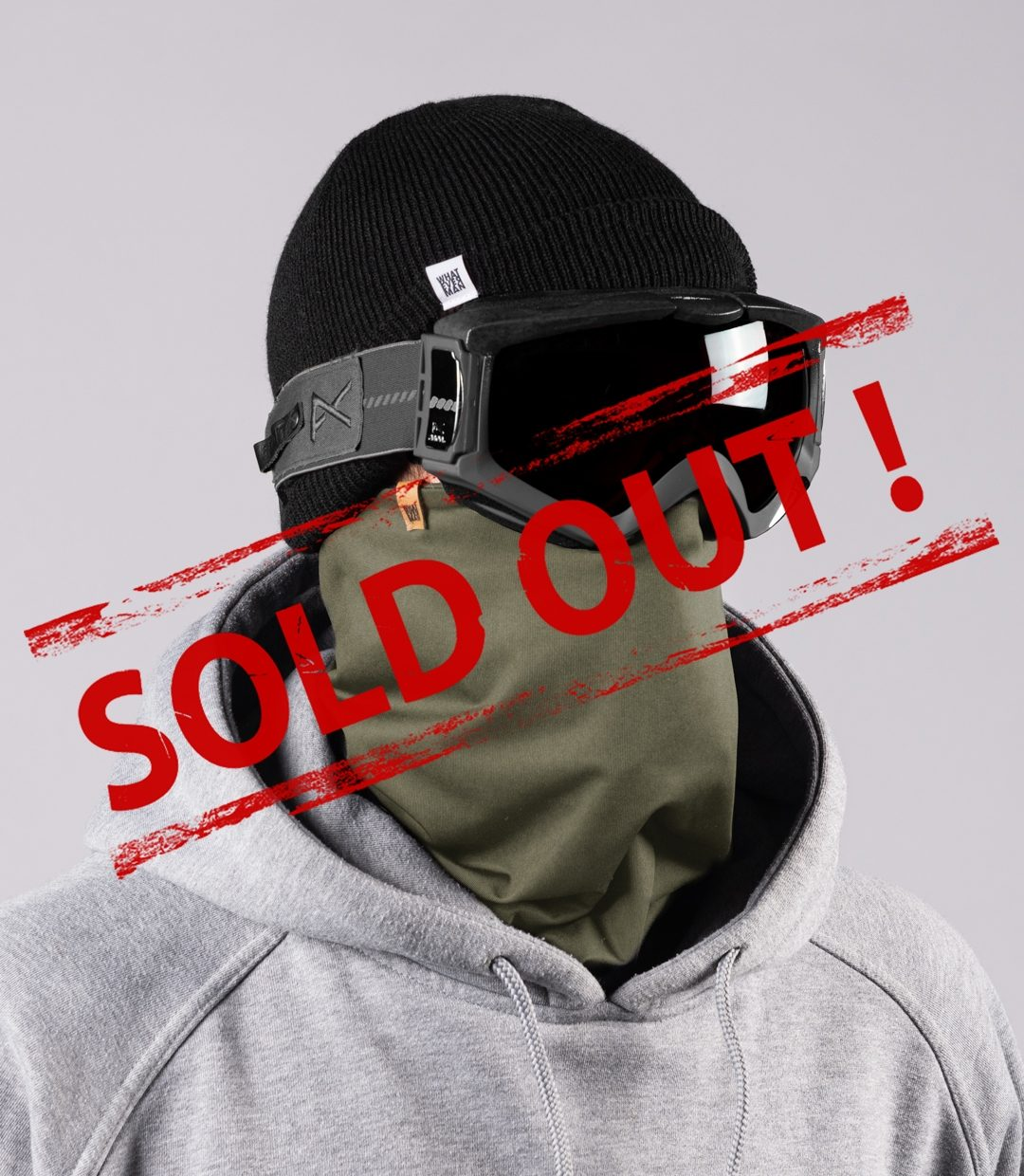 Whatever Man COVID Neckwarmer 5 SOLDOUT