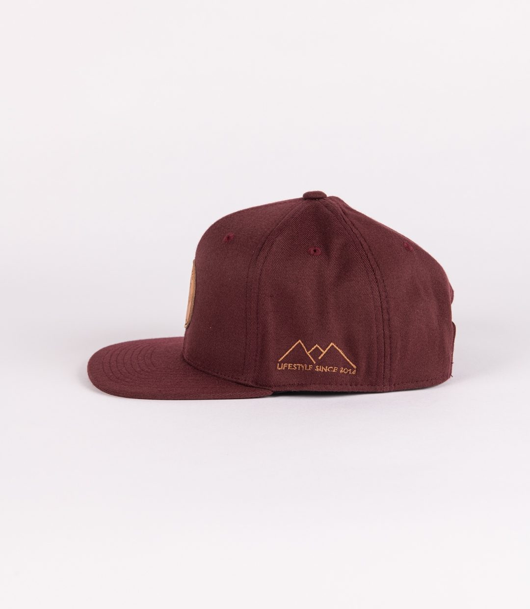 Whatever Man Leather Maroon Seite