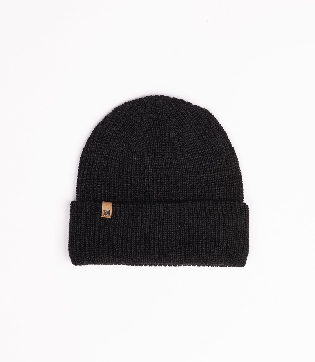 Whatever Man Ripped Beanie Classic Leather 2