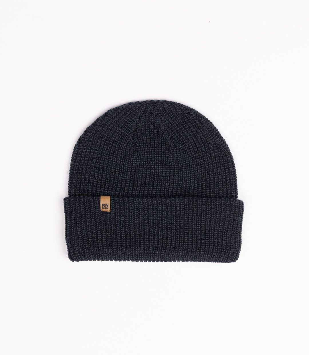 Whatever Man Ripped Beanie Classic Leather 3