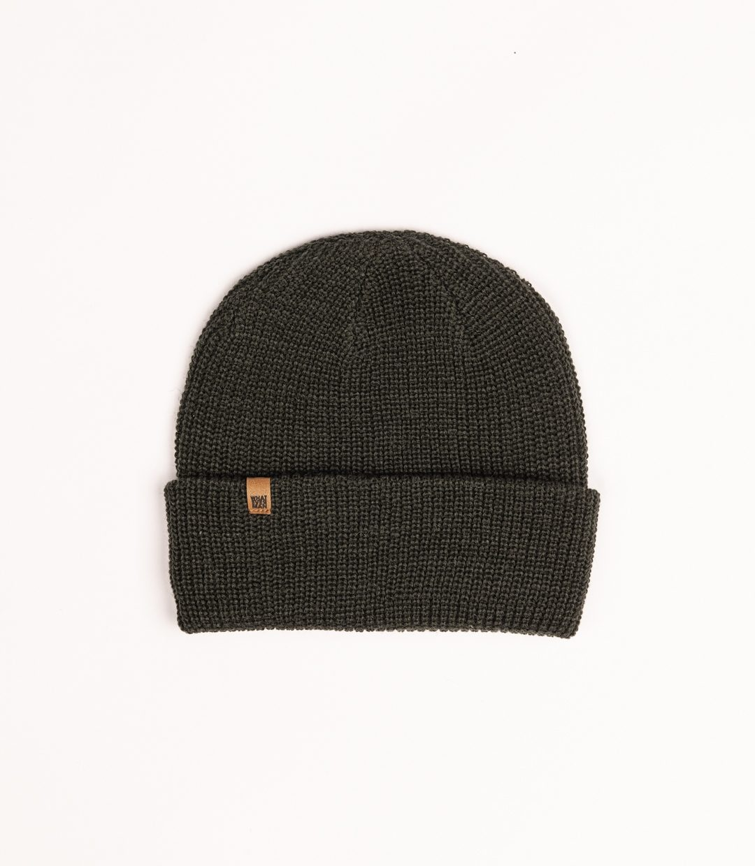 Whatever Man Ripped Beanie Classic Leather 4