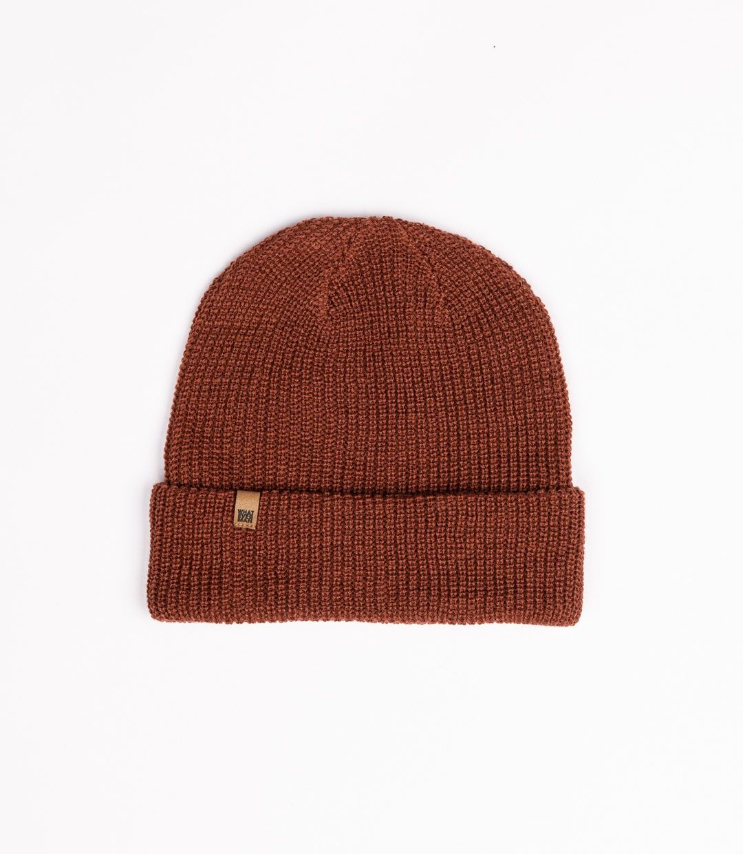 Whatever Man Ripped Beanie Classic Leather 5