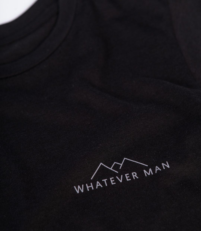 Whatever Man Women Block Schwarz 10