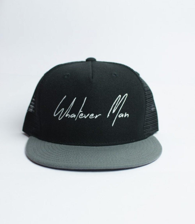 Whatever Man Cap Simple 01